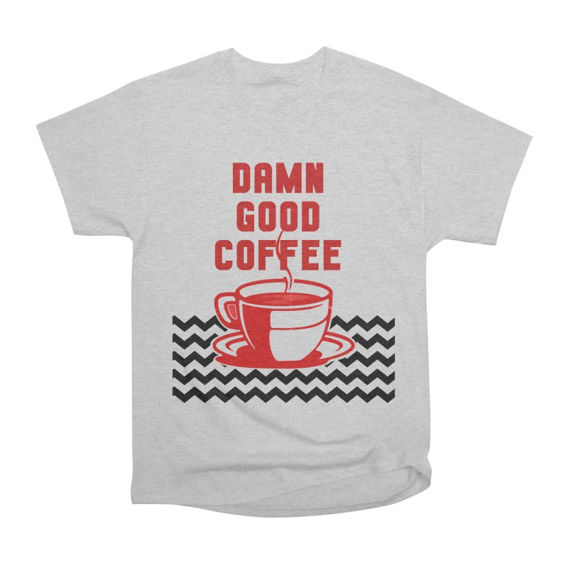 Damn Good Coffee Men's T-Shirt by quadrin's Artist Shop