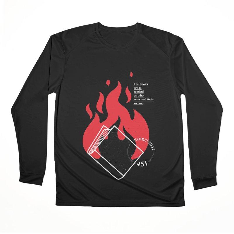 Fahrenheit Women's Longsleeve T-Shirt by quadrin's Artist Shop