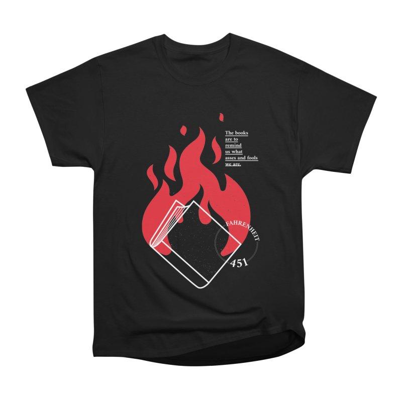 Fahrenheit Men's T-Shirt by quadrin's Artist Shop