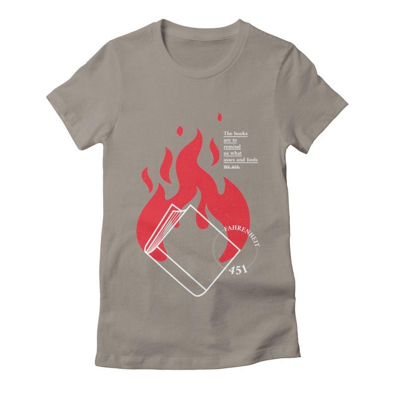 Fahrenheit Women's T-Shirt by quadrin's Artist Shop