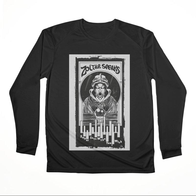 ZOLTAR – MAKE A WISH Women's Longsleeve T-Shirt by quadrin's Artist Shop