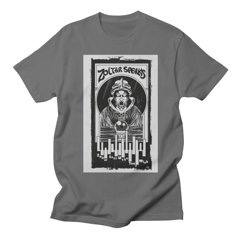 ZOLTAR – MAKE A WISH Men's T-Shirt by quadrin's Artist Shop