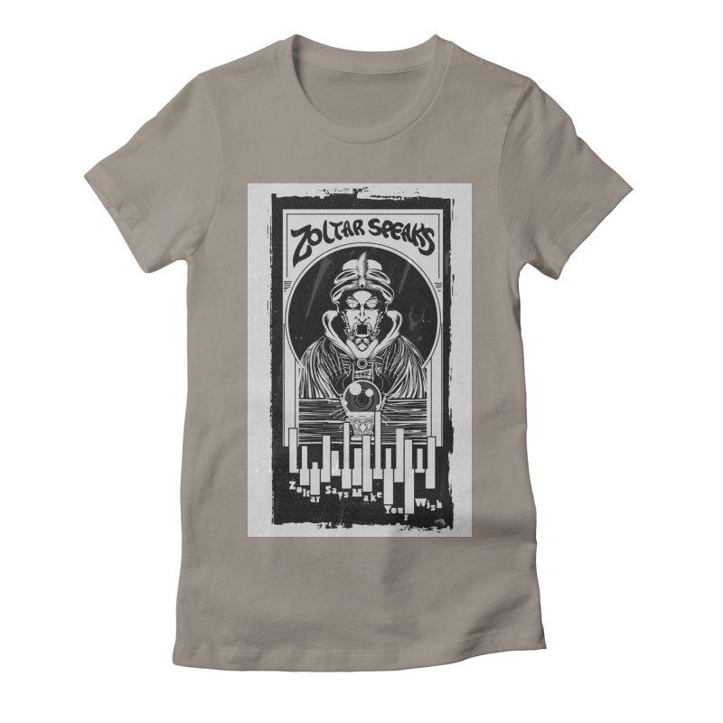 ZOLTAR – MAKE A WISH Women's T-Shirt by quadrin's Artist Shop