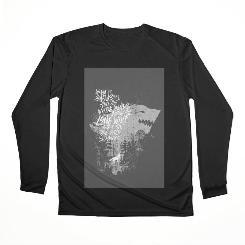 The Pack Men's Longsleeve T-Shirt by quadrin's Artist Shop