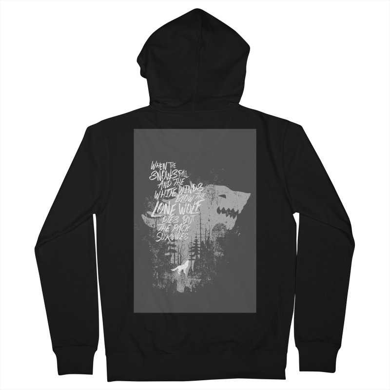 The Pack Men's Zip-Up Hoody by quadrin's Artist Shop
