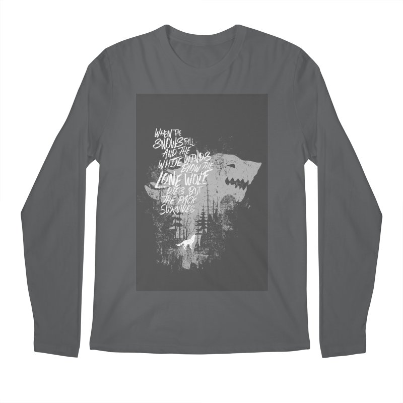 The Pack Men's Longsleeve T-Shirt by quadrin's Artist Shop