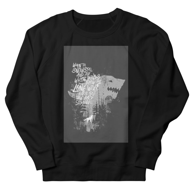 The Pack Men's Sweatshirt by quadrin's Artist Shop