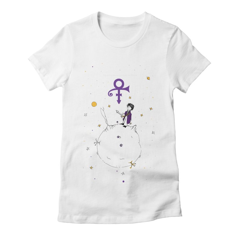 The Little Prince Women's T-Shirt by quadrin's Artist Shop