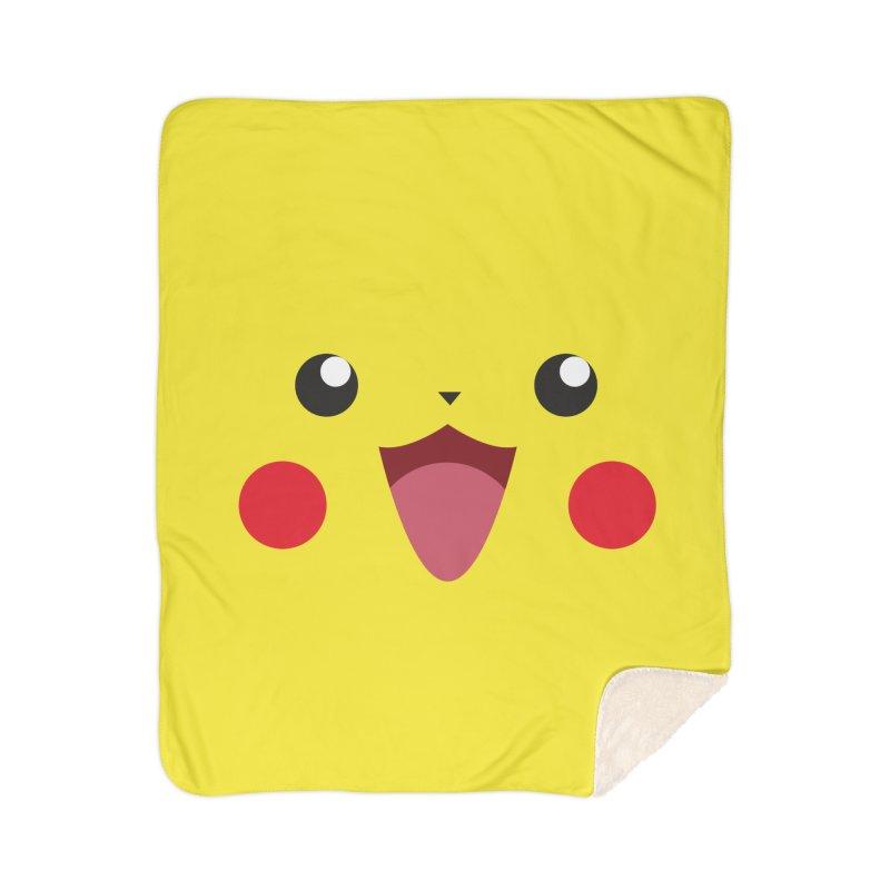 Pikachu Home Blanket by quadrin's Artist Shop
