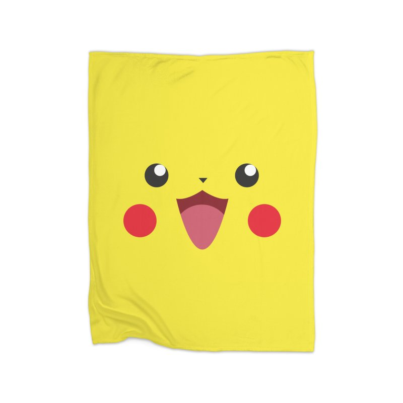 Pikachu Home Blanket by quadrin's Artist Shop
