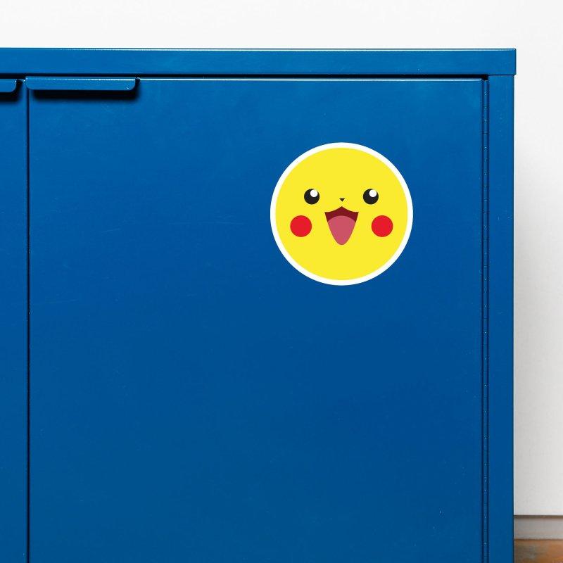 Pikachu Accessories Magnet by quadrin's Artist Shop