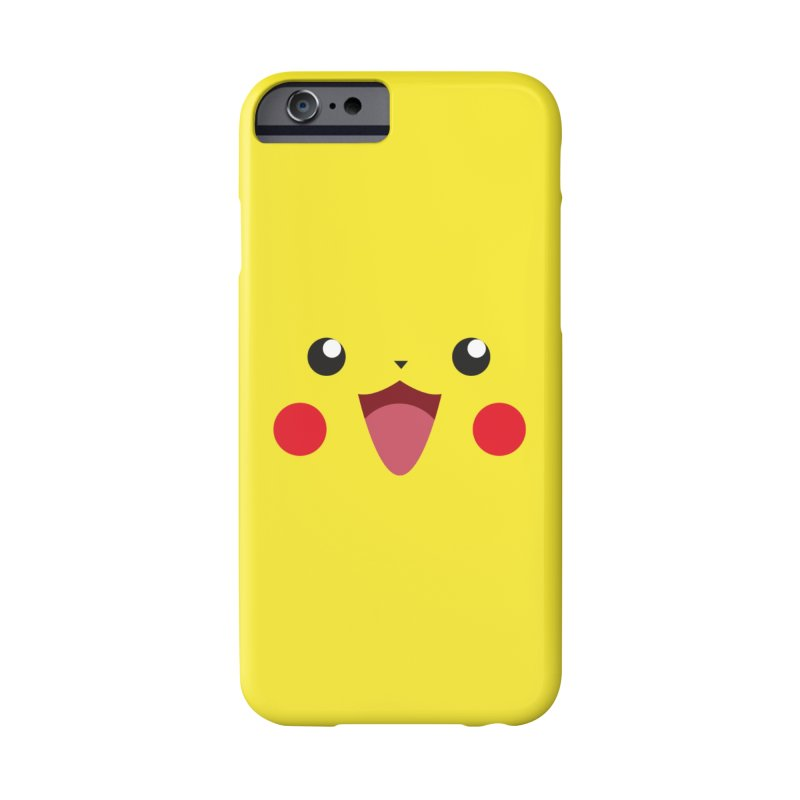 Pikachu Accessories Phone Case by quadrin's Artist Shop