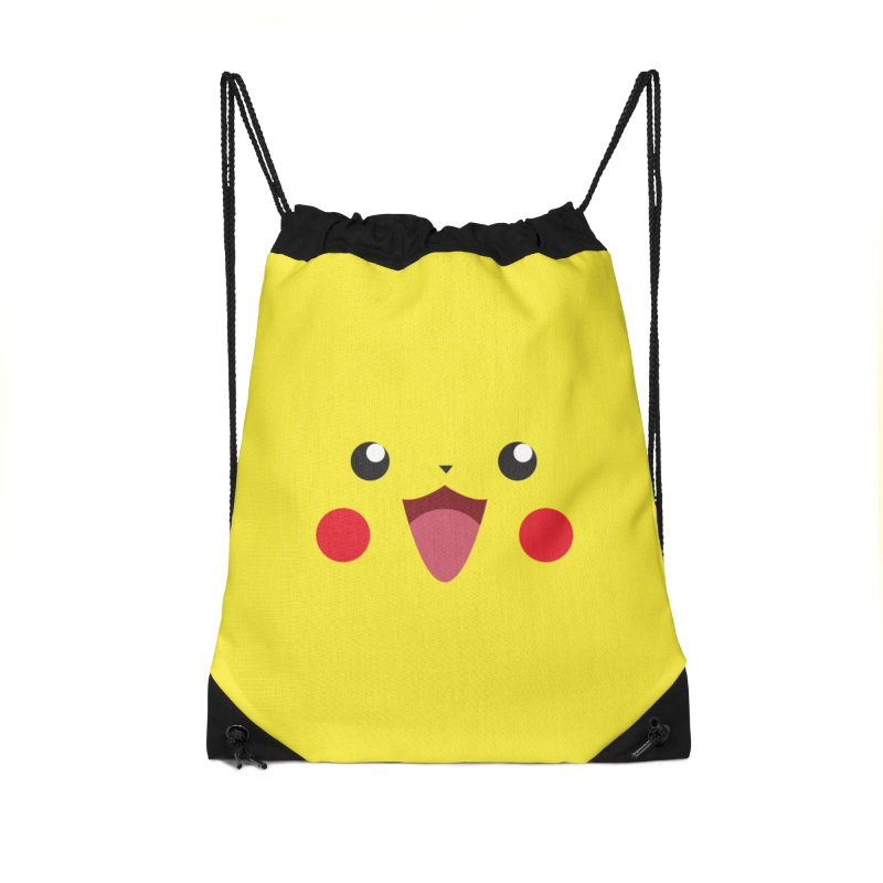Pikachu Accessories Bag by quadrin's Artist Shop