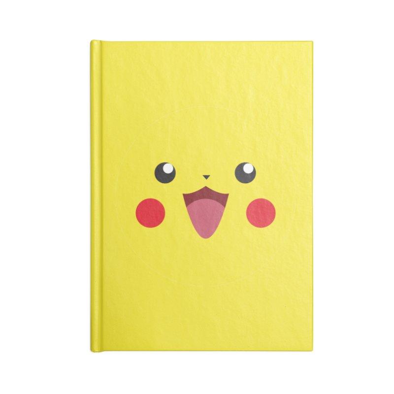 Pikachu Accessories Notebook by quadrin's Artist Shop