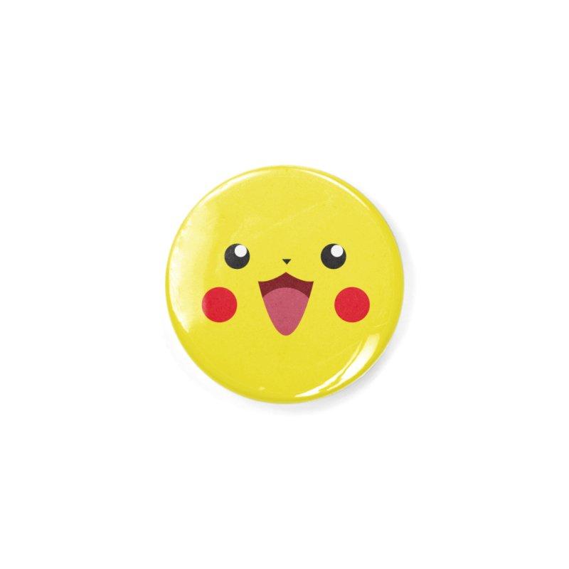 Pikachu Accessories Button by quadrin's Artist Shop