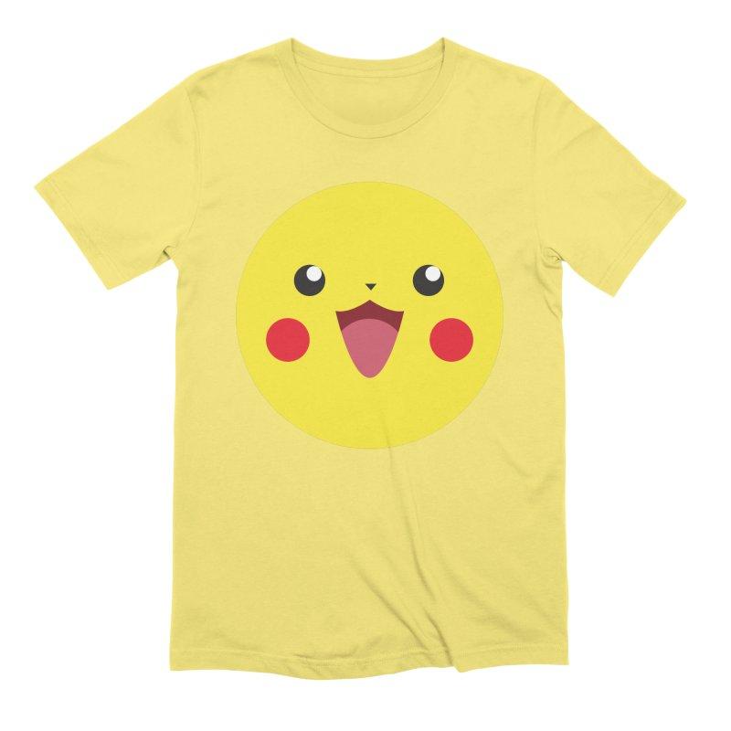Pikachu Men's T-Shirt by quadrin's Artist Shop