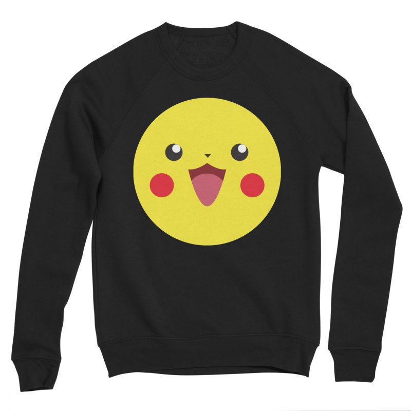 Pikachu Men's Sweatshirt by quadrin's Artist Shop