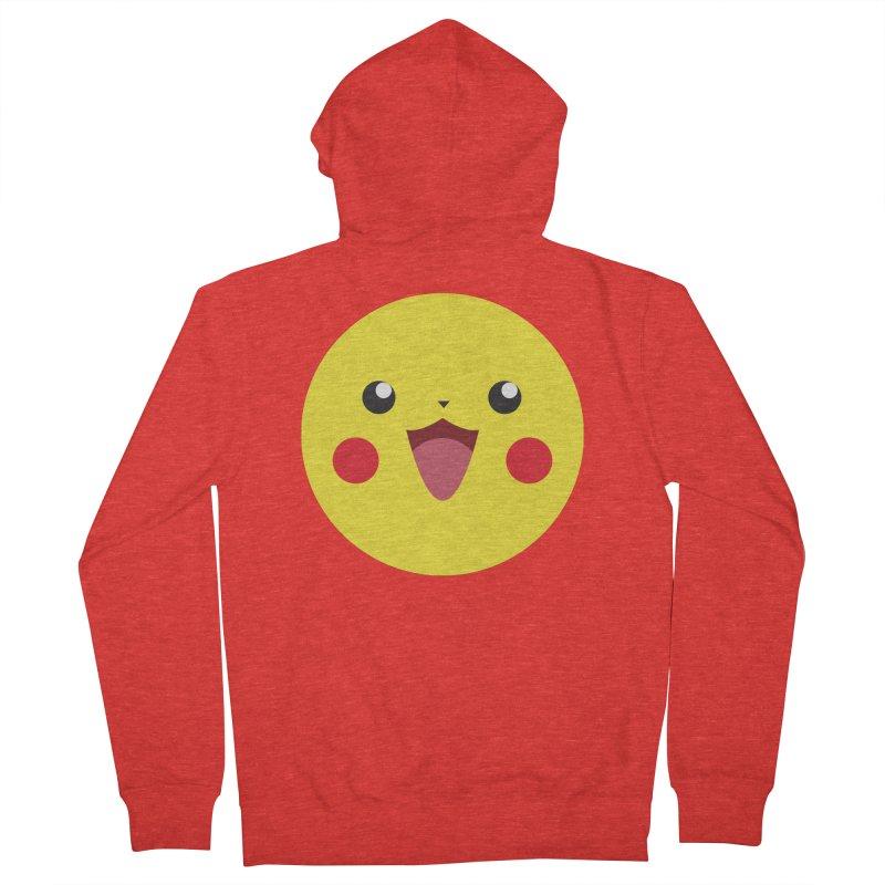 Pikachu Men's Zip-Up Hoody by quadrin's Artist Shop