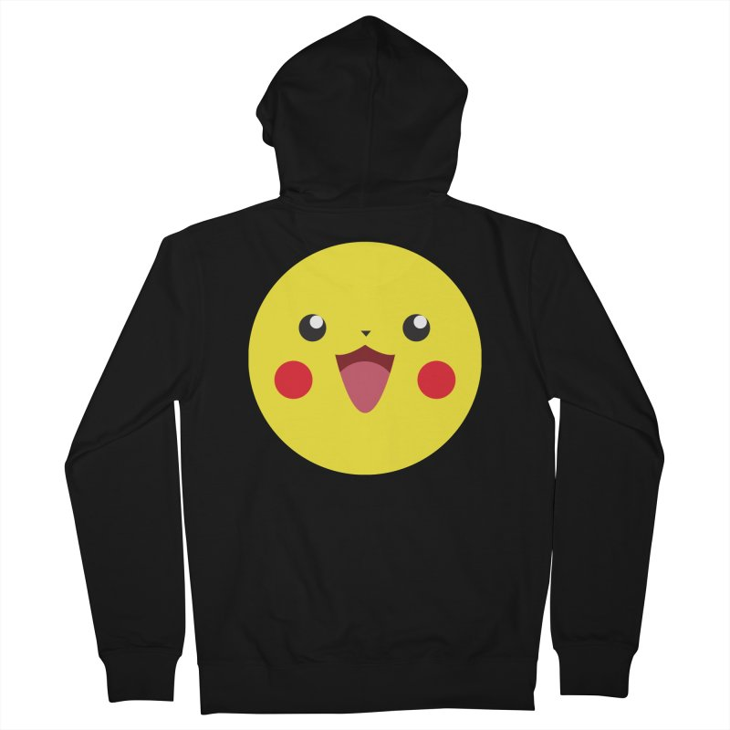 Pikachu Men's Zip-Up Hoody by quadrin's Artist Shop