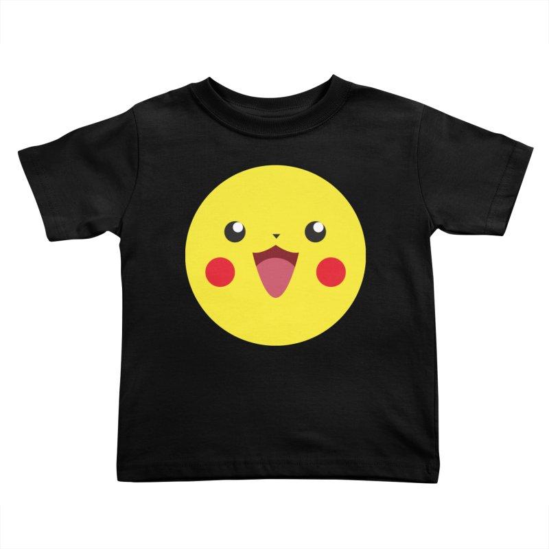 Pikachu Kids Toddler T-Shirt by quadrin's Artist Shop