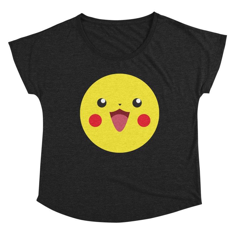 Pikachu Women's Scoop Neck by quadrin's Artist Shop