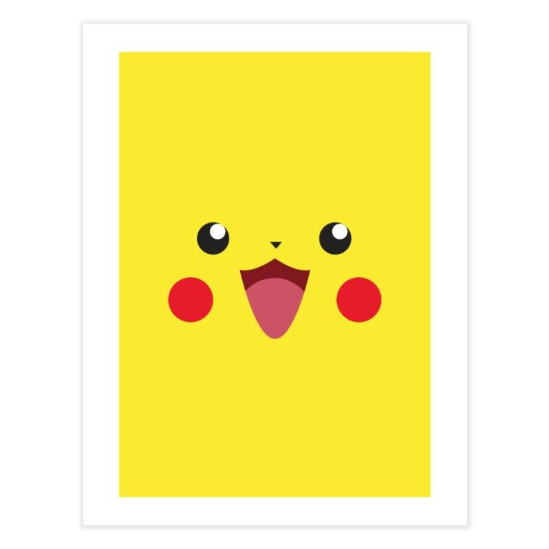 Pikachu Home Fine Art Print by quadrin's Artist Shop