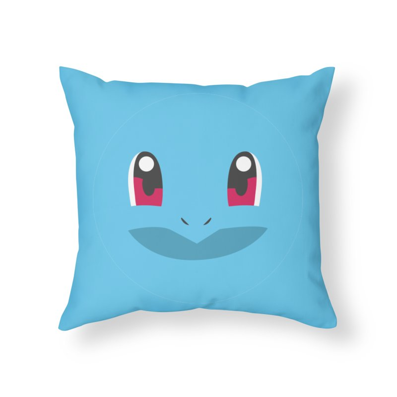 SQUIRTLE Home Throw Pillow by quadrin's Artist Shop