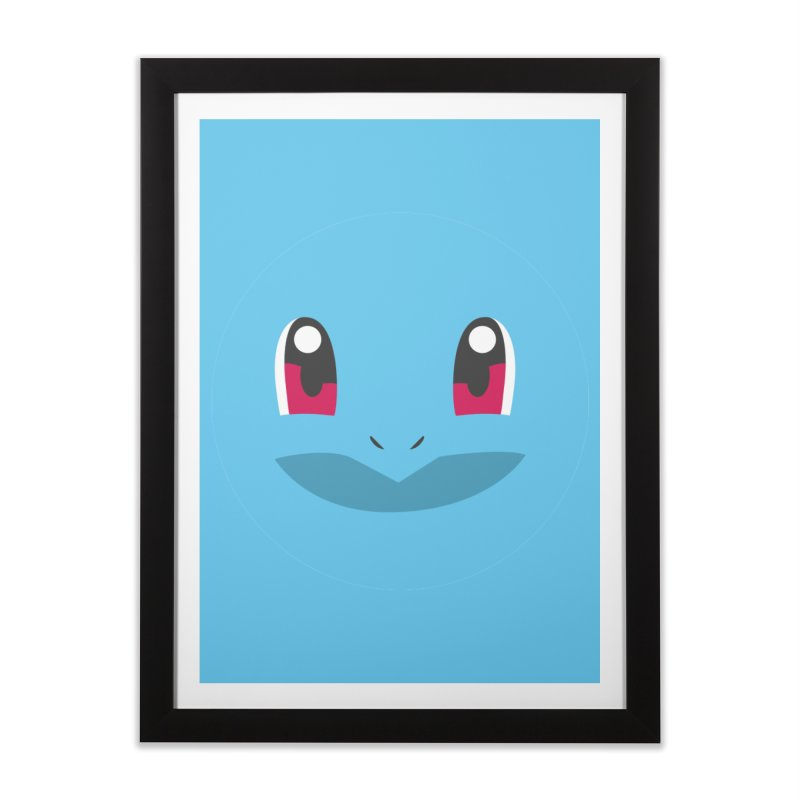 SQUIRTLE Home Framed Fine Art Print by quadrin's Artist Shop