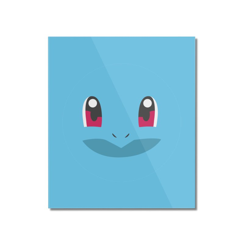 SQUIRTLE Home Mounted Acrylic Print by quadrin's Artist Shop