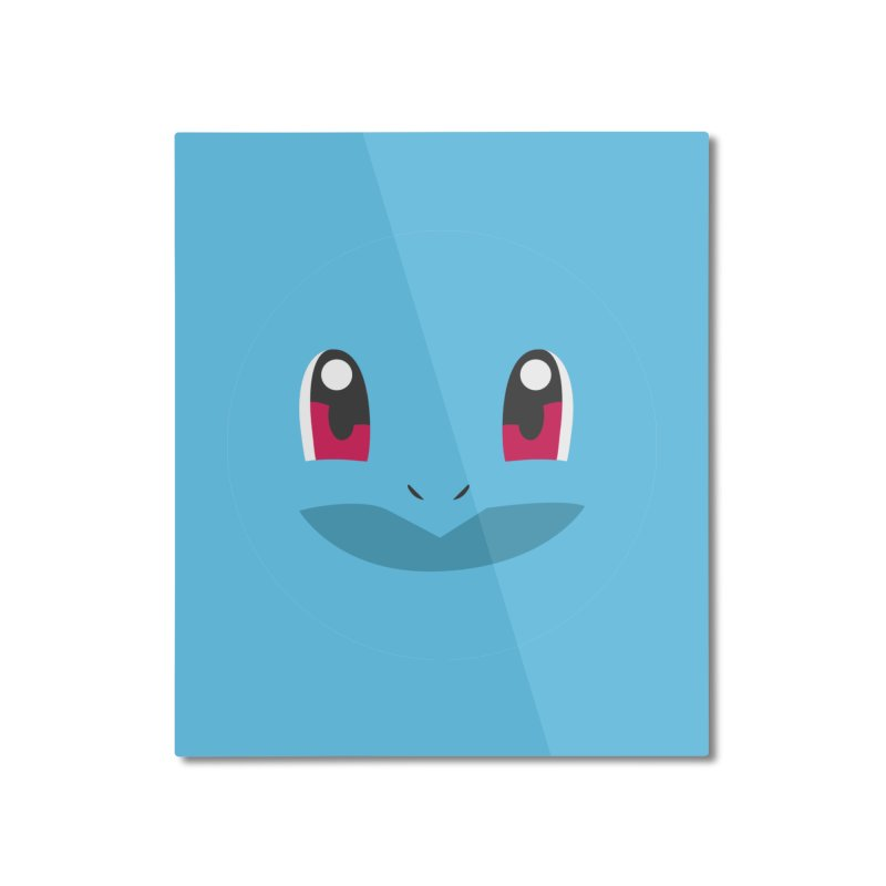 SQUIRTLE Home Mounted Aluminum Print by quadrin's Artist Shop