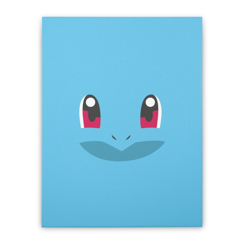 SQUIRTLE Home Stretched Canvas by quadrin's Artist Shop