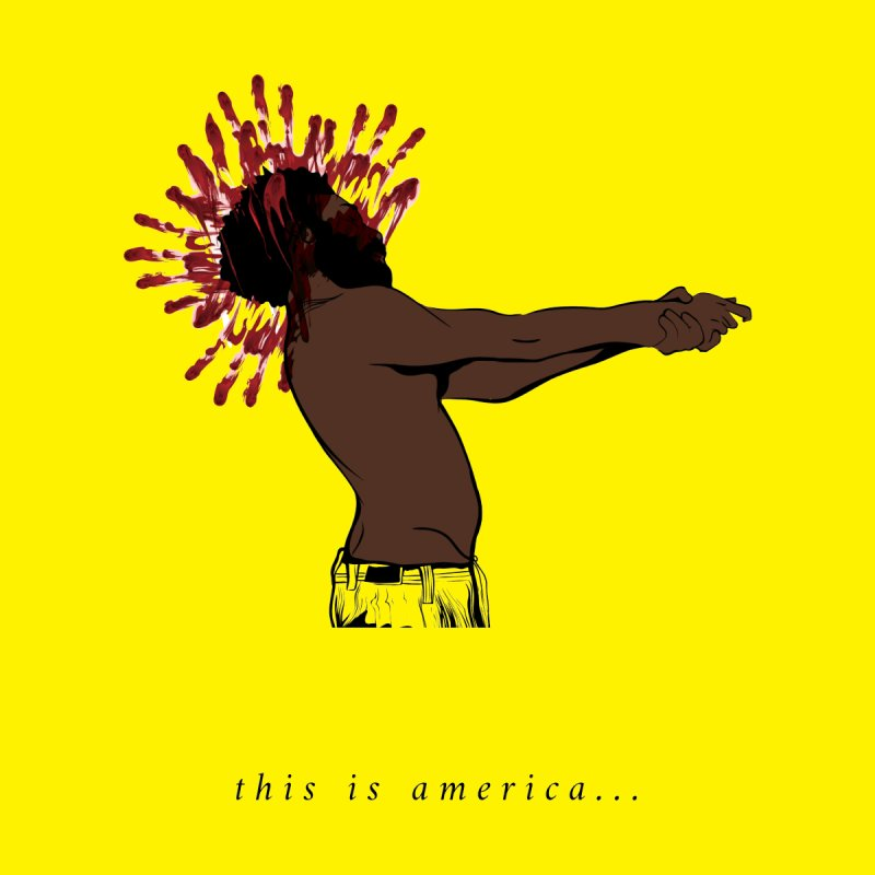 This is America Men's T-Shirt by quadrin's Artist Shop