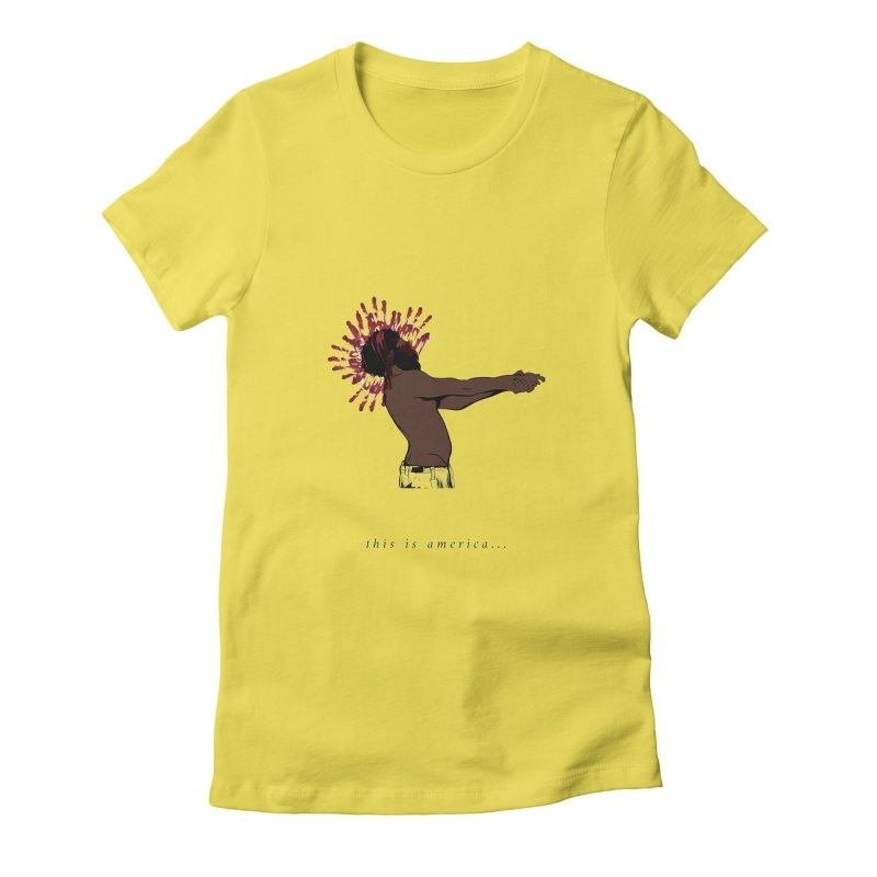 This is America Women's T-Shirt by quadrin's Artist Shop