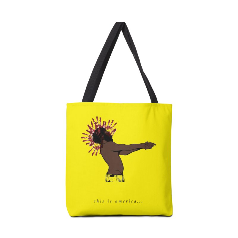 This is America Accessories Bag by quadrin's Artist Shop