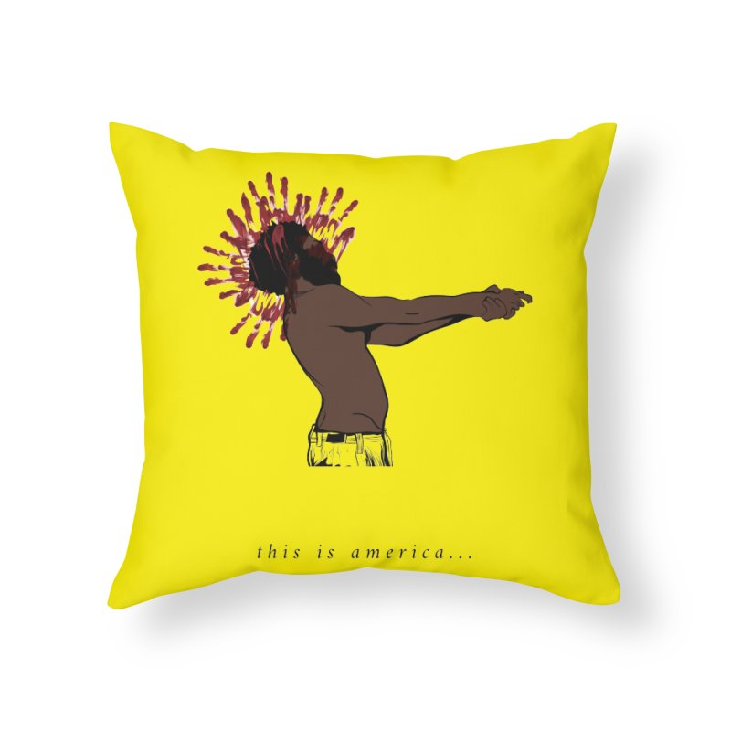 This is America Home Throw Pillow by quadrin's Artist Shop