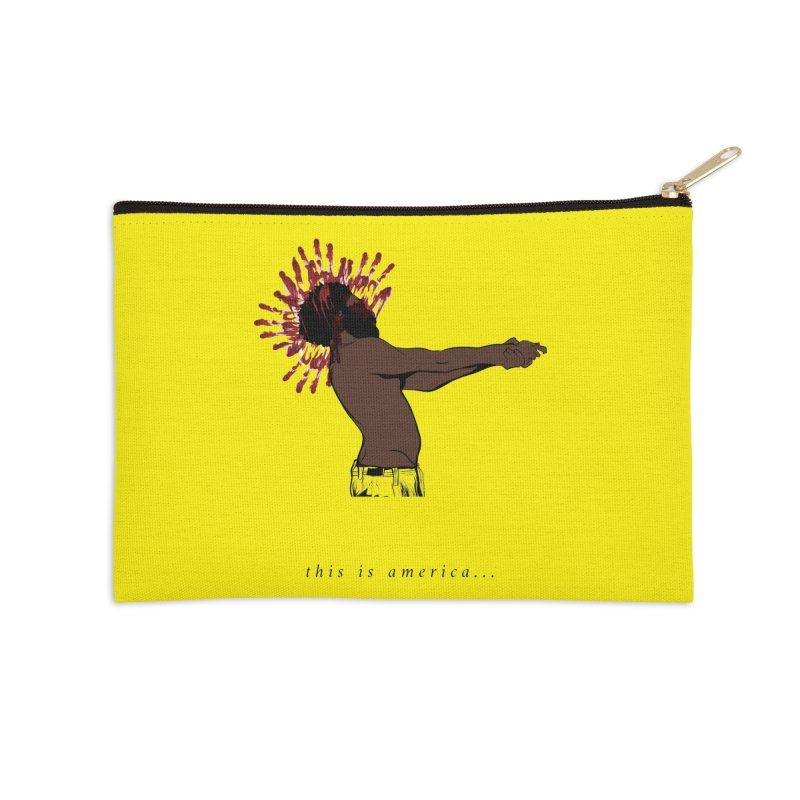 This is America Accessories Zip Pouch by quadrin's Artist Shop
