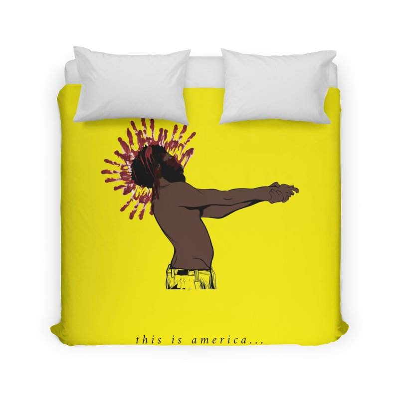 This is America Home Duvet by quadrin's Artist Shop