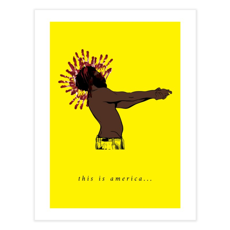 This is America Home Fine Art Print by quadrin's Artist Shop