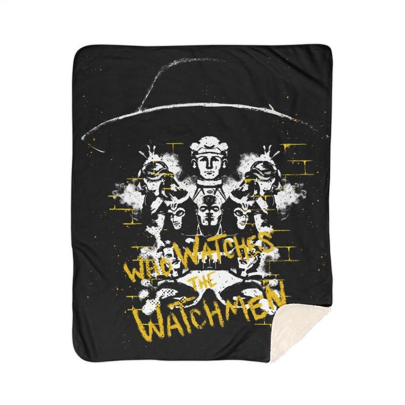 Watchmen Home Blanket by quadrin's Artist Shop