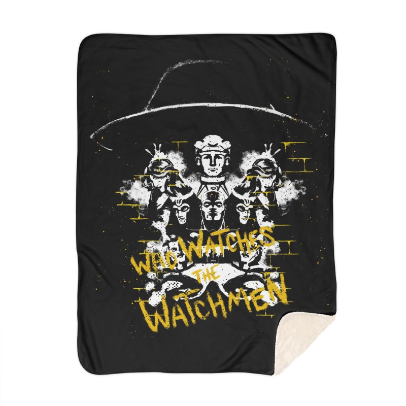 Watchmen Home Blanket by quadrin's Artist Shop