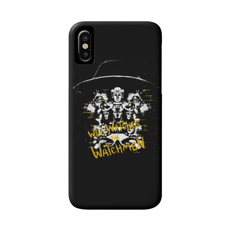 Watchmen Accessories Phone Case by quadrin's Artist Shop