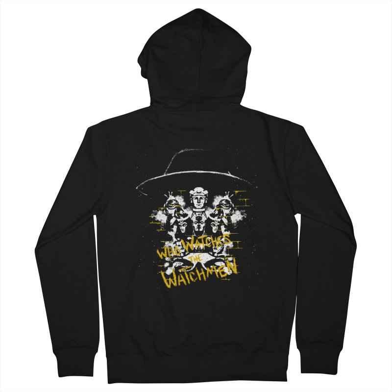 Watchmen Men's Zip-Up Hoody by quadrin's Artist Shop