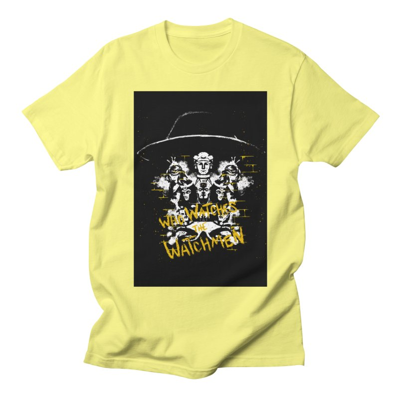 Watchmen Men's T-Shirt by quadrin's Artist Shop