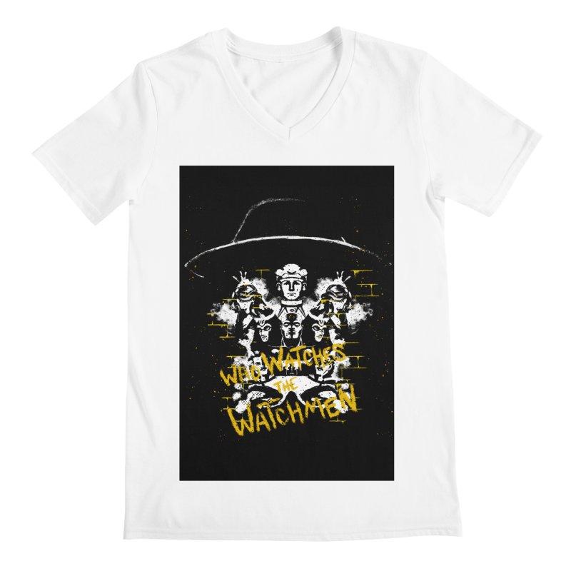 Watchmen Men's V-Neck by quadrin's Artist Shop