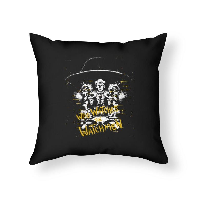 Watchmen Home Throw Pillow by quadrin's Artist Shop