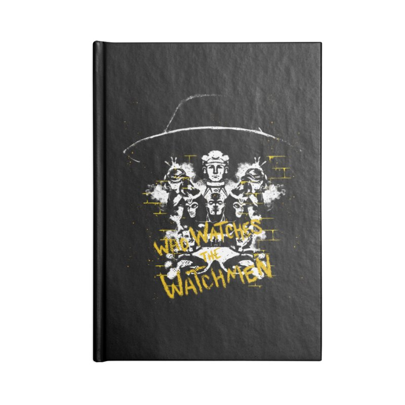 Watchmen Accessories Notebook by quadrin's Artist Shop