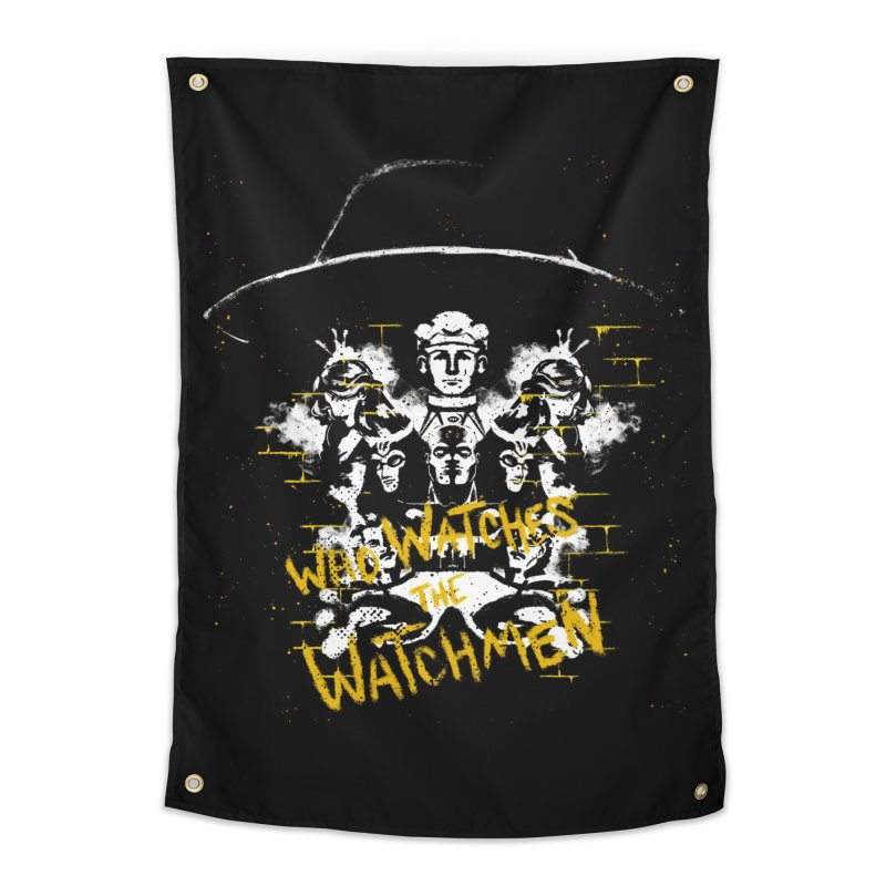 Watchmen Home Tapestry by quadrin's Artist Shop