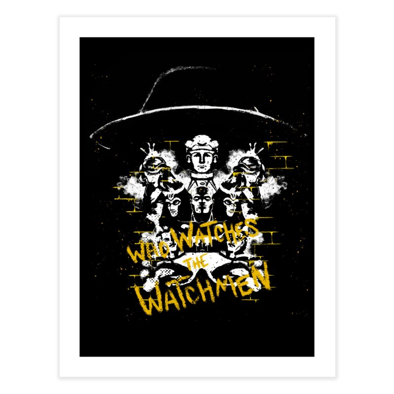 Watchmen Home Fine Art Print by quadrin's Artist Shop