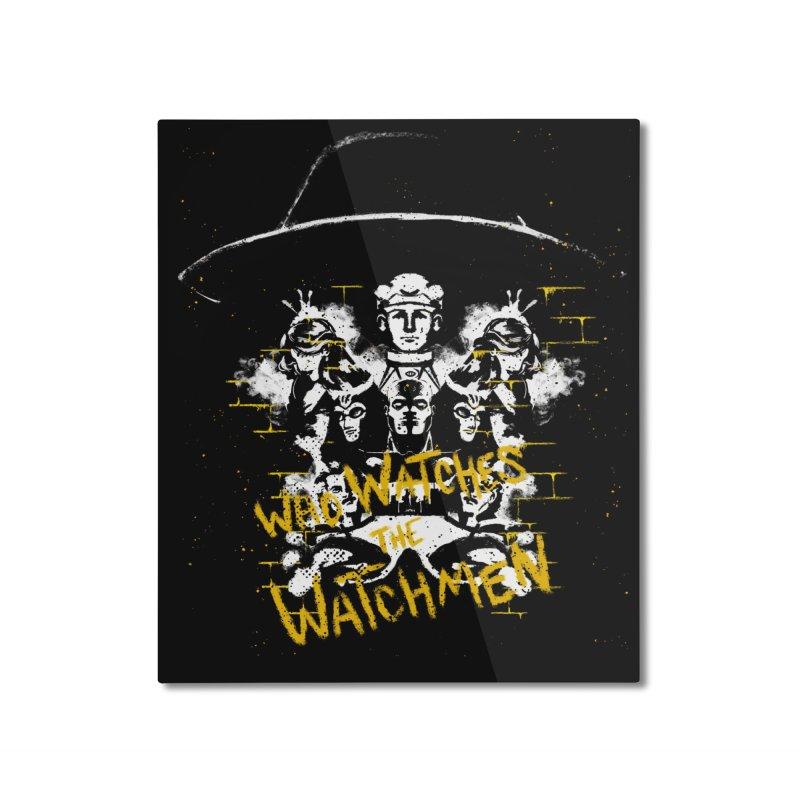 Watchmen Home Mounted Aluminum Print by quadrin's Artist Shop