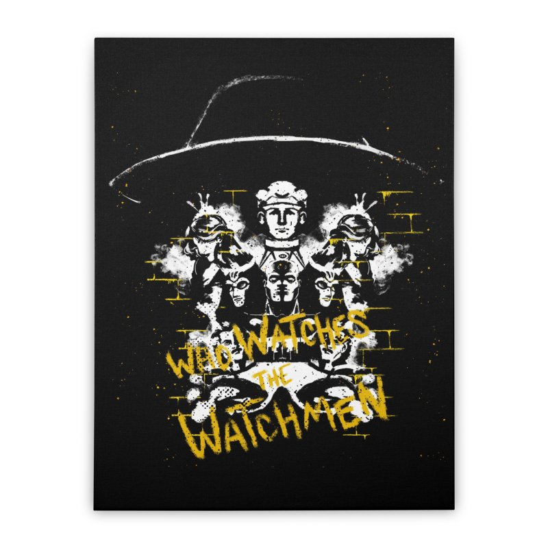 Watchmen Home Stretched Canvas by quadrin's Artist Shop
